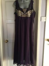 Simply Be Purple Dress 20. Excellent For Party/New Year