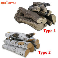 Gas Fireplace Logs for Vented Propane Gas Inserts Vent-Free Gel Ethanol Electric
