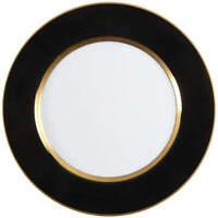 Fitz & Floyd Renaissance Black On White Dinner Plate 128928