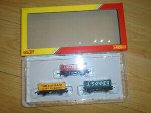 Unused R6930 LWB Open Wagons Pack for Hornby OO Gauge Sets