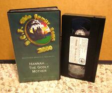HAROLD BECKETT Hannah the Godly Mother VHS Christian sermon 2000 BCF faith Ohio