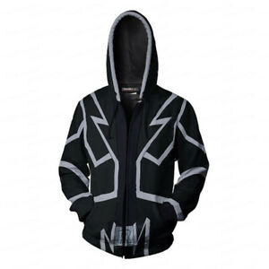 Yu-Gi-OH Print Leisure Hoodies Zip Sweatshirt Men's Sweater Sportswear Costume