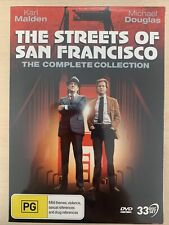 The Streets Of San Francisco - The Complete Series DVD 33 Disc Set UK Compatible