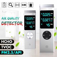PM2.5 Detektor HCHO TVOC AQI Luft Qualität Messgerät Haus Staub Dust Sensor