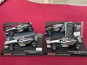 Carrera-2x McLaren-Mercedes-David Coulthard-Limited Edition-gebraucht