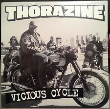 THORAZINE : VICIOUS CYCLE LP 1998 HELL YEAH RECORDS 🎱 BRAND NEW SEALED!!