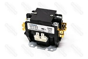 Packard C230A Contactor 2 Pole 30 Amps 24 Coil Voltage