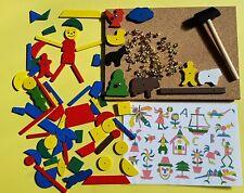 Hammer & Nail Tap Tap Set Educational Toy - Farm & Mosaic Mixed Set in Box