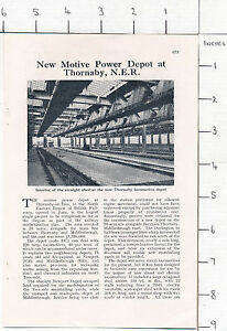 ZAS64 New Motive Power depot at Thornaby 1958 magazine article