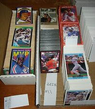1987-05 Donruss, Leaf, Studio & Triple Play Baseball Cards; U Choose 50 Cards!!