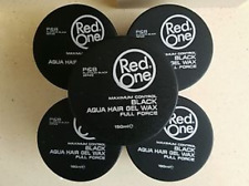 RedOne AQUA HAIR GEL WAX NEW BEST Full Force Black 5.1 oz