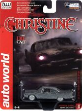 Auto World 1:64 1958 Plymouth Fury Christine After Fire Burned Die-Cast Car Awsp