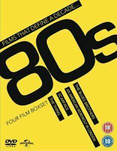 80s- Four Film Box set- **NEW/SEALED** DVD set. See description below *FREEPOST*