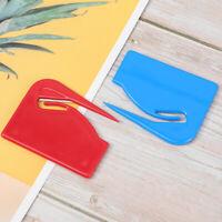 4 Pcs Letter Openers Practical Plastic Envelope Slitter Opener for Office School