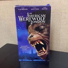 An American Werewolf in London (1981) - Vhs Cassette