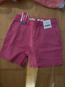 Joules True Pink Cruise Shorts Size 10