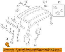 MAZDA OEM 99-05 Miata Convertible/soft Top-Weatherstrip Seal Left NC10R1731D
