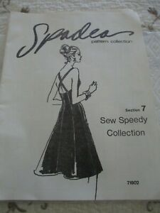 VINTAGE SPADEA PATTERN COLLECTIONS BOOKLETS - SECTION 3 AND SECTION 7