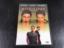 Wild Things (DVD, 1998) Kevin Bacon, Matt Dillon, Neve Campbell