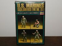 VINTAGE 1990 HASEGAWA US MARINES WWII HOBBY KIT MINIATURE MODEL UNOPENED