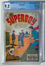 Superboy #91 CGC 9.2 - Civil War 1961 DC Comics Superman