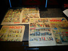 Magazine DONALD n° 49 & 115 1948.49 ( Et Mickey n°236 1939  INCOMPLET )