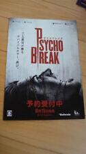 The Evil Within Psychobreak Japan Booklet Zombie Horror Game S.Mikami Biohazard