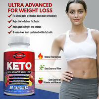 Keto Supplements - Weight Loss Diet Pills Fat Burner Carb Blocker for Ketosis
