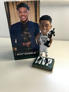 Giannis Antetokounmpo Milwaukee Bucks MVP NBA Bobblehead Figure  Limited Edition