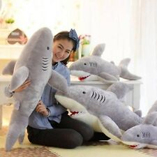 Big Shark Soft Toy Xmas Gift Stuffed Cushion Large Animal Plush Toys Doll Pillow
