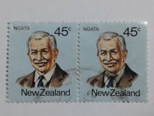2 x New Zealand Stamps - 45c Each