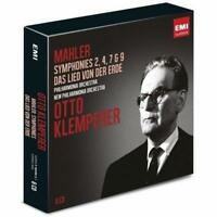 Otto Klemperer - Mahler: Symphonies 2, 4, 7 & 9; Das Lied von d (NEW 6 x CD SET)