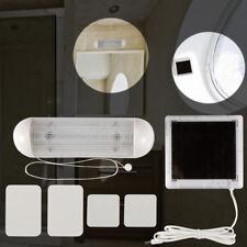 Solar Powered LED Shed Light Wall Indoor Pull Lamp Corridor Garden Yard Garage