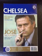 Chelsea Football Club Official Magazine 05/06 - Issue 12 - Jose Mourinho