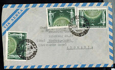 A-1150**ARGENTINA 1950   AIR MAIL  COVER * RESISTENCIA TO HAMBURG, GERMANY