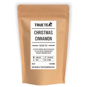 Christmas Cinnamon Organic Tea (No.32) - Loose Leaf Black Tea - True Tea Co.