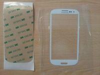 Cristal de Pantalla Tactil Blanco para Samsung Galaxy S3 SIII I9300 +Adhesivo