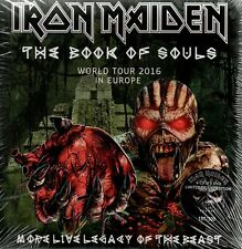 IRON MAIDEN - MORE LIVE LEGACY OF THE BEAST - 6CD+3DVD BOX-SET N°225/300  SEALED