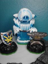 EMPIRE OF ICE w/Anvil Rain and Sky Iron Shield figures Skylanders Adventure pack