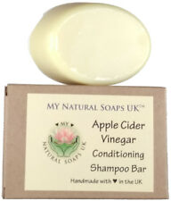 ATTIS Handmade Apple Cider Vinegar Conditioning Shampoo Bar | with Kaolin Clay