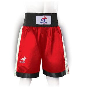 Master Sports Kids Boxing Shorts Mens Boxing Shorts Womens Boxing Shorts Satin