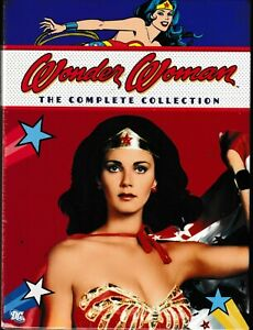 Wonder Woman The Complete Series Collection (DVD) Seasons 1 2 3) (Lynda Carter)