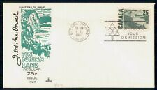 New listing Mayfairstamps Canada Fdc 1967 Solemn Land Capital Cachet 25c Art First Day Cover