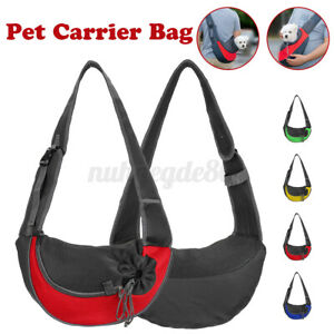 Hands Free Pet Carrier Sling Bag Puppy Dog Cat Tote Shoulder Travel Backpack