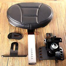 1X Plug-In Driver Grid Backrest&Back Pocket For Harley FLH/T FLHR FLHX 97-18