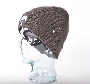 NWOT 686 MELANGE BEANIE $25 O/S Gray Acrylic Knit snowboard