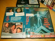 Betamax *THE BOY WHO COULD FLY* 1986 RARE Oz Roadshow 1st Issue Drama  Beta Tape