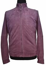 New PAL ZILERI CONCEPT Suede Leather Bomber Jacket Size EU48 US38  $1695