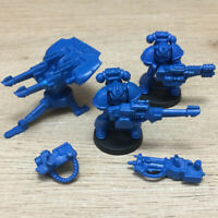 Space Crusade Ultramarines Space Marines Tarantula Team + Heavy Weapons