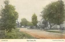 Pennsylvania, PA, East Canton, Street Scene, Horse & Buggys 1910's Postcard